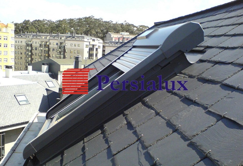 Persialux velux roto for Persianas exteriores velux